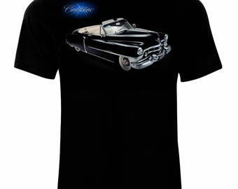 Retro vintage Cadillac Men's Printed T-shirt