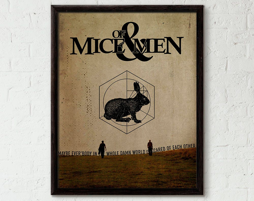 literary letter mice and men Of mice and men study guide contains a biography of john steinbeck, literature essays, quiz questions, major themes, characters, and a full summary and.