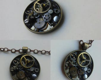 Pieces and Parts Steampunk Necklace