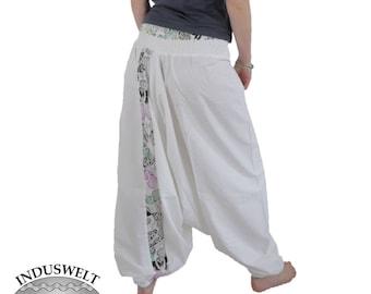 Harem Trouser Cotton white