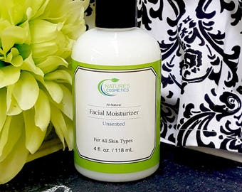 All-Natural Facial Moisturizer