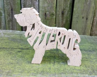 Spanish Water Dog, Spanish Water Dog gift, Spanish Water Dog ornament,  Spanish Water Dog jigsaw, Spanish Water Dog puzzle,