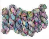 Hand dyed yarn - 4 ply (Fingering) - Zenith