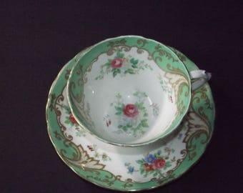 Vintage Tuscan tea cup and saucer  #12122017