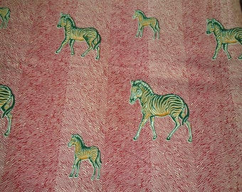 Wholesale, 6 Yards Hitarget Wax Print with Zebras