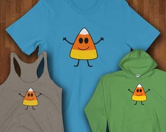 Halloween Shirts - Cute Candy Corn Halloween Shirts