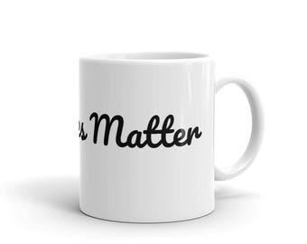 Vegan Lives Matter Mug