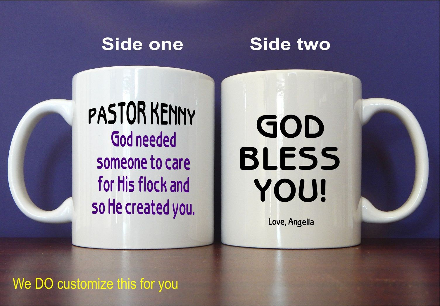 Pastor Appreciation Mug Reverend Gift Gift to Church
