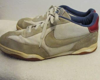 Men's GRUNGED Vintage RETR0 Part SUEDE Soccer Style Shoes By NIKE.11(As Is)