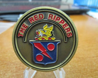 United States Navy Strike Fighter Squadron 11 VFA-11 CPO The Red Rippers Challenge Coin #4104