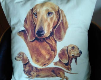 Dachshund Cushion/Pillow