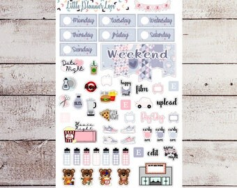 Happy Easter Functional Planner Stickers