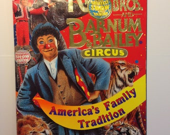 Ringling Brothers and Barnum & Bailey Circus 121st Edition Souvenir Program and Magazine Paperback – 1992
