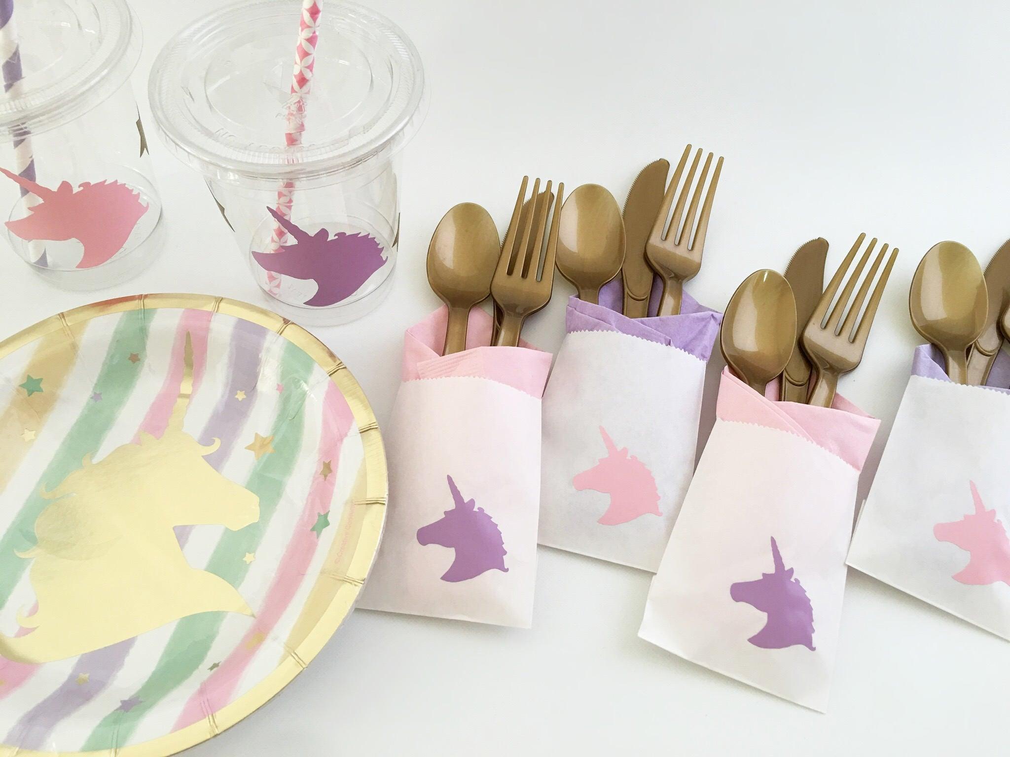 Unicorn Party Cups - Unicorn Cups - First Birthday - Unicorn ...