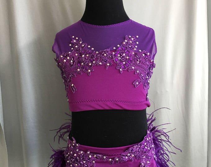 Jazz Dance costume, custom Dance Costume, black jazz  Dance Costume, Dance costume ,custom Dance Costume, solo dance