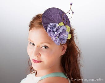 Springlike Fascinator purple
