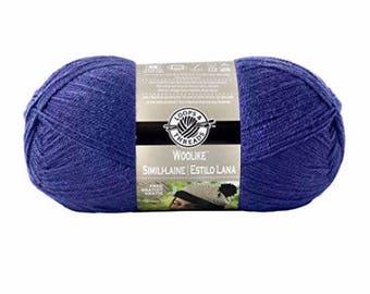 Loops & Threads® Woolike™ Yarn  - Purple - 3.5 oz