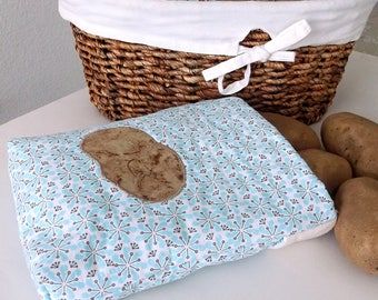 Microwave Baked Potato Bag, Bread Warmer, Handmade Quilted Microwavable Potato Pouch, Baking Bag, Corn Cooker, Tortilla Warmer,