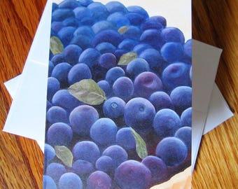 Cards: Blueberry Tart