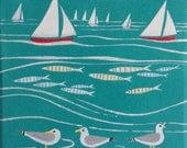 Seaside painting - Sails,...