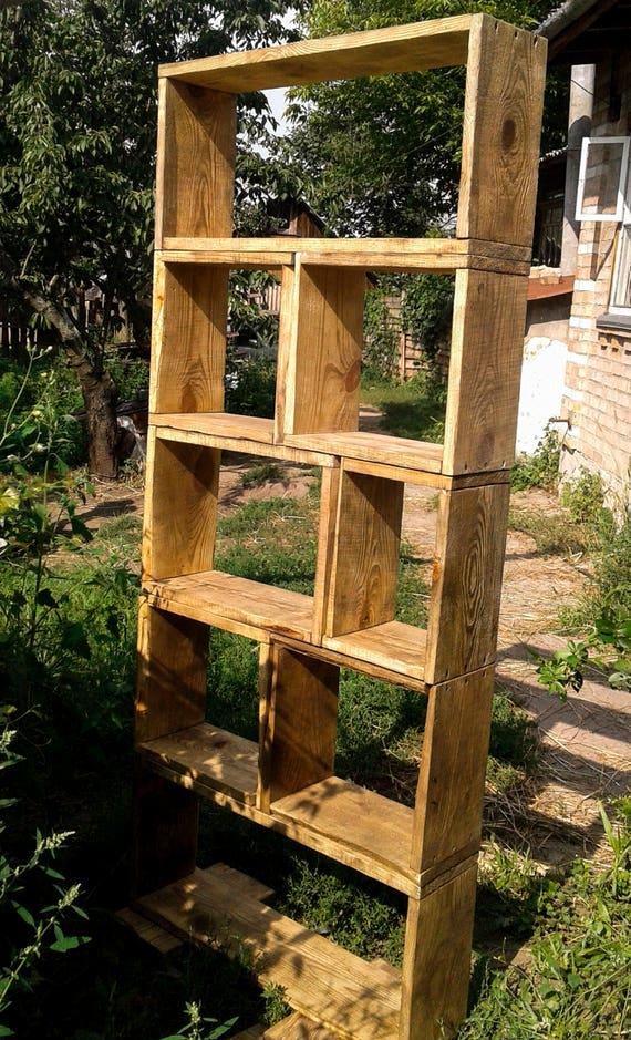 Bien-aimé Legno libreria rustico mobili in legno riciclato casa mobili WL92