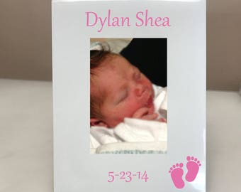 PERSONALIZED! Baby Picture Frame