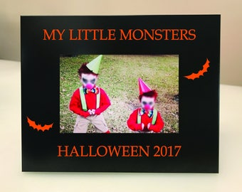 My Little Monsters Halloween Picture Frame