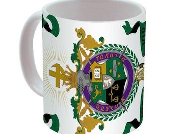Lambda Chi Alpha Crest Coffee Mug