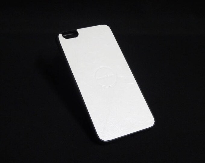 Apple iPhone 6 Plus + - Jimmy Case in White Gloss - Kangaroo leather - Handmade - James Watson