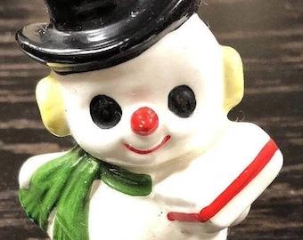 Vintage Mr Frosty the Snowman Salt Shaker