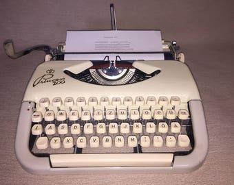 Vintage portable typewriter Princess 100 mechanical typewriter