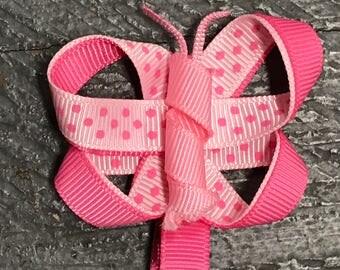 Hair Clip Ribbon Sculpture Headband Bow Animal Butterfly