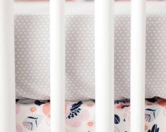 Gray Dot | Crib Sheet