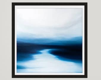 Ocean art print, Seascape art, Coastal art, Printable art, Ocean painting, Art Print, Modern art, Gift ideas, Tropical decor, Seascape Print
