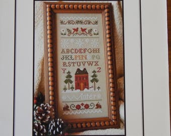 Winter Band Sampler by Little House Needleworks