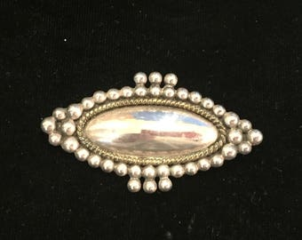 Vintage Mexican Sterling Silver Pin/Pendant
