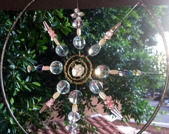 Herkimer Mandala Suncatcher