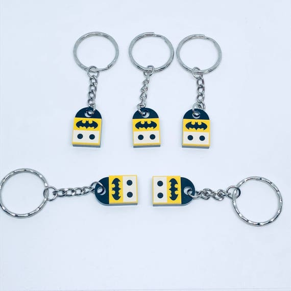 Batman Inspired Lego Keyring