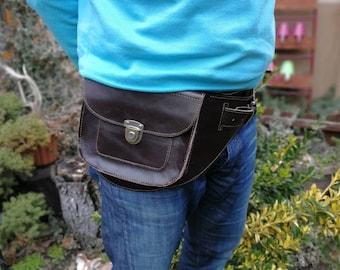 Designer Belt Bag, Waist Pack, Hip Bag Leather, Waist Bag, Leather Belt Bag, Leather Waist Bag, Leather Pouch, Leather Pouch Bag