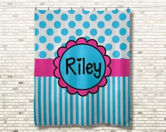Personalized Name Blanket, Custom Fleece Blanket, Personalized Blanket, Custom Birthday Gift, Personalized Baby Blanket, Gift for Her