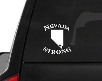 Nevada State (W29) Strong Vinyl Decal Sticker Car/Truck Laptop Window