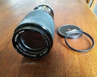 Vintage Vivitar 70-210 mm f3,5 Zoom Lens for Canon FD/FL Mount SLR Cameras