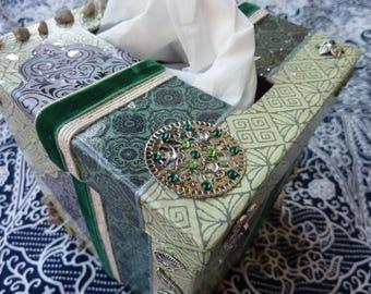 box square handkerchief ethnic patterns