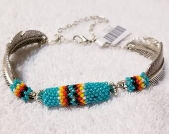 Beaded Link Bracelet