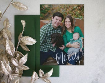 PRINTABLE Holiday Cards | Merry
