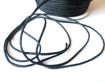 10 m 1.5 mm black nylon string