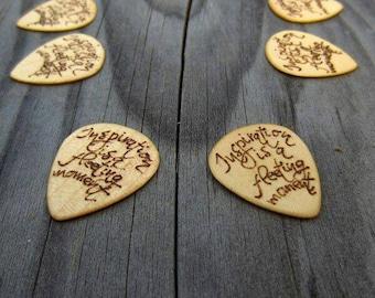Custom guitar pick,Gift for husband to be,gift for him wood,gift for him fiance,gift for men wood,small gifts for men,small gifts boyfriend