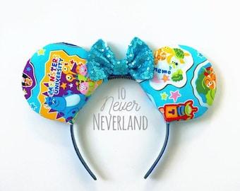 Pixar Mickey Ears, Pixar Ears, Nemo Ears, Monsters Inc Ears, Disney Inspired Finding Nemo Ears, Pixar Mouse Ears, Disney Pixar Ears, Nemo
