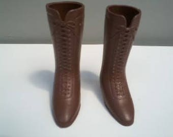 Vintage Crissy and family Granny Boots