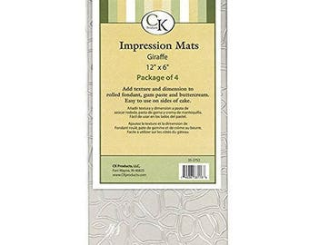 Impression Mat - Giraffe - CK Products